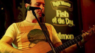 Chris Talbot a rocking one-man band